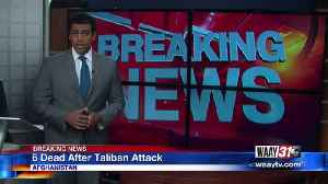 6 Afghan Soldiers Dead After Taliban Attack [Video]
