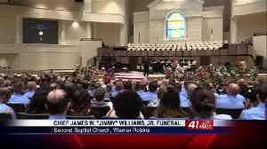 Funeral for late Houston County Fire Chief Jimmy Williams [Video]