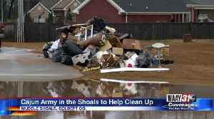Cajun Army in the Shoals to Help Clean Up [Video]