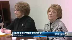 Lawmakers discuss Iowa's response following a recent blizzard [Video]