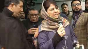Mehbooba Mufti leads PDP Protest against Centre's Ban on Jamaat E Islami | Oneindia News [Video]