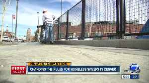 Tentative agreement reached in class action lawsuit against Denver over homeless sweeps [Video]
