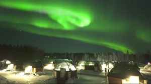 Northern Lights dance over Finland [Video]