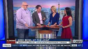 The Super Bowl of trivia in Las Vegas:Jackie and Gina take on 6-time Jeopardy champ [Video]