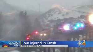 Off-Duty Firefighter Hit By Car After Stopping To Help Crash Victims In Slick Conditions [Video]