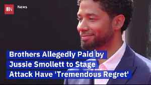 Jussie Smollett's Fake Attackers Feel Bad [Video]