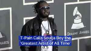 T-Pain Has Opinions On Soulja Boy [Video]