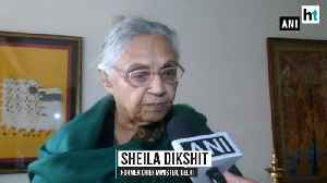 Congress not in favor of alliance with AAP Sheila Dikshit [Video]