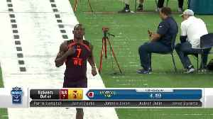 Iowa State wide receiver Hakeem Butler's 2019 NFL Scouting Combine workout [Video]