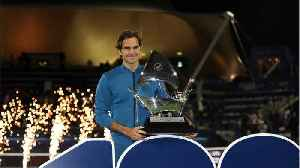 Roger Federer Wins 100th Career Title [Video]