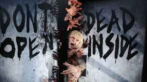 Kids Are Crazy For AMC's 'The Walking Dead' [Video]