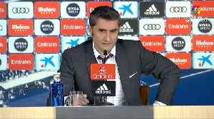 Valverde pleased, Solari frustrated after Barca wins Clasico again [Video]