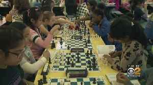 All Girls Chess Tournament Held In Chelsea [Video]