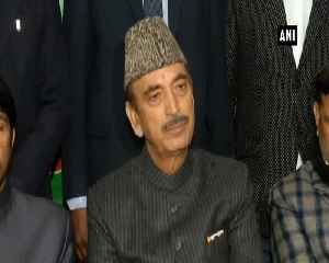 Forget political differences join hands in fighting against terrorism Ghulam Nabi Azad [Video]
