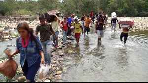 Desperate Venezuelans cross Tachira River to survive [Video]