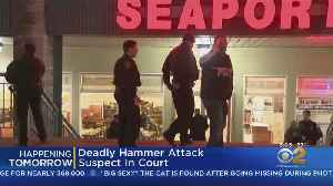 Deadly Hammer Attack Suspect Due In Court [Video]