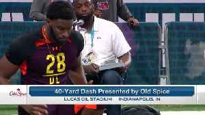 Florida State edge rusher Brian Burns runs an unofficial 4.56 40-yard dash at 2019 combine [Video]