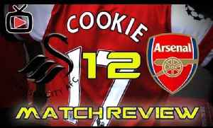 Arsenal FC 2 Swansea City 1 - Cookies Match Review - ArsenalFanTV.com [Video]