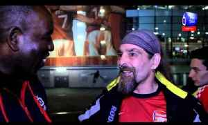Arsenal FC 2 Napoli 0  - Bully Praises Flamini -  ArsenalFanTV.com [Video]
