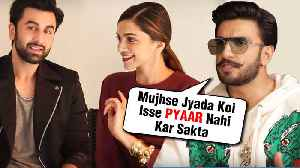 Ranveer Singh SHOCKING REACTION On Deepika Padukone Working With Ex Ranbir Kapoor [Video]