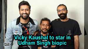 News video: Vicky Kaushal to star in Udham Singh biopic