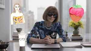 Anna Wintour Talks the Kardashians, Dressing for an Interview, and How Not to Wear Leggings [Video]