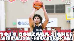 Gonzaga signee Anton Watson shows out in state championship [Video]