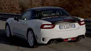 Abarth 124 Rally Tribute in White Driving Video [Video]