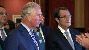 Prince Charles welcomes President of Cyprus to Buckingham Palace [Video]