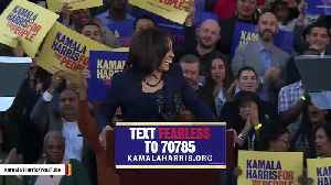 Both President And Ivanka Trump Donated To Kamala Harris' California Attorney General Campaign: Report [Video]