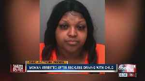 Tampa woman arrested after recklessly driving while twice the legal limit, arrest documents show [Video]