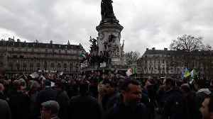 Thousands of French Algerians in Paris protest Bouteflika's fifth presidential bid [Video]