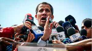 Opposition Leader Juan Guaido Mobbed By Supporters At Airport In Venezuela [Video]