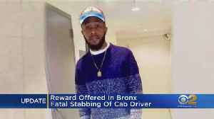 $3,000 Reward Offered In Stabbing Of Livery Driver [Video]