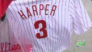 Bryce Harper Holds Record For Best Jersey Launch [Video]