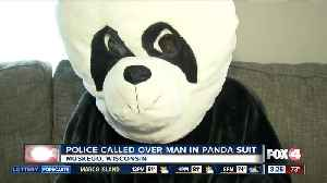 Police called over man in panda suit [Video]