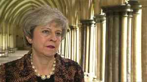 British PM May admits picture 'error' on Russian spy poisoning anniversary [Video]