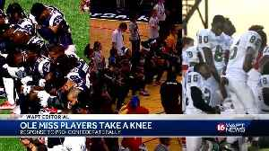 Editorial: Ole Miss players take knee [Video]