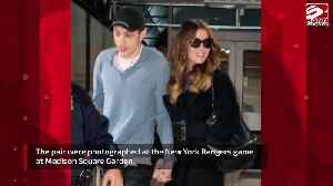 Kate Beckinsale and Pete Davidson attend hockey game [Video]