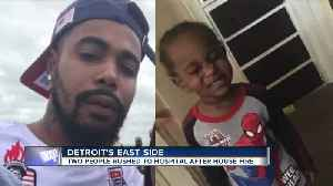 Father & child in critical condition after house fire in Detroit [Video]