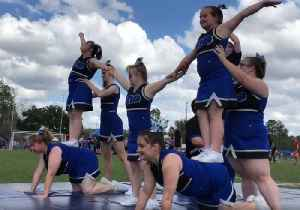 Special Needs Students in Florida Show Off Cheerleading Skills at County Games [Video]