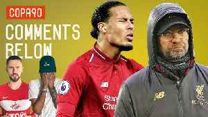 News video: Are Liverpool 'Bottling' The Premier League After Everton Draw? | Comments Below