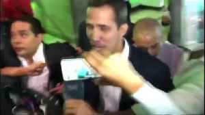 Guaido returns to Venezuela [Video]