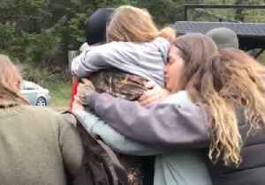 Tears of Joy as Missing Young Sisters Are Reunited With Relieved Parents [Video]