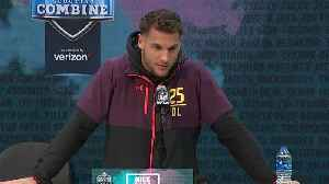 Ohio State University defensive end Nick Bosa's 2019 NFL Scouting Combine press conference [Video]