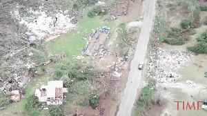 Drone Footage Shows Extent of Alabama Tornado Damage [Video]
