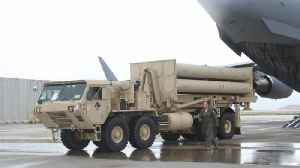 U.S. deploys THAAD System to Israel [Video]