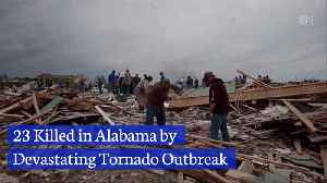 A Path Of Death And Destruction Is Left In Alabama [Video]