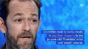 Celebrities Take To Social Media To Mourn Luke Perry [Video]