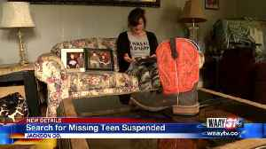 Search for Missing Teen Suspended [Video]